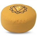 Meditatiekussen - Chakra 3 Manipura (Geel)