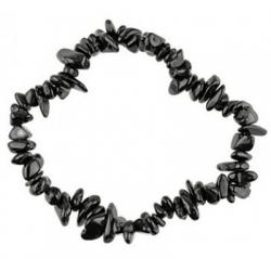 Edelsteen splitarmband - Zwarte Toermalijn