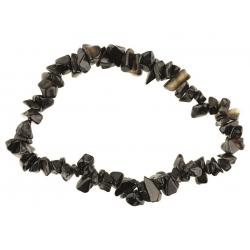 Onyx edelsteen splitarmband