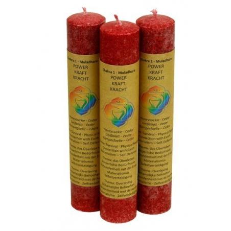 1st Chakra scented candle-Muladhara Chakra 1 (red)
