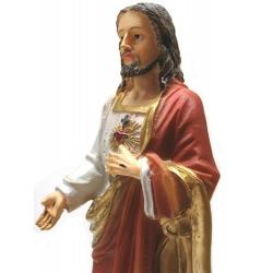 Jesus met heilig hart met open hand (20 cm)
