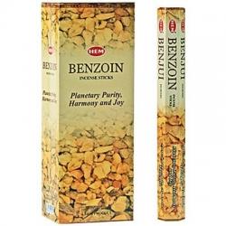 6 pakjes Benzoin wierook (HEM)
