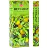 6 pakjes Bergamot wierook (HEM)