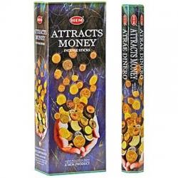 6 pakjes Attracts Money wierook (HEM)