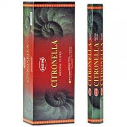 6 pakjes Citronella wierook (HEM)