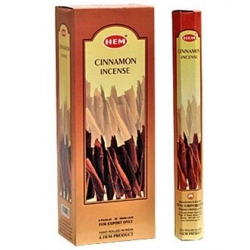 6 pakjes Cinnamon wierook (HEM)