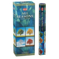 6 pakjes All Seasons wierook (HEM)