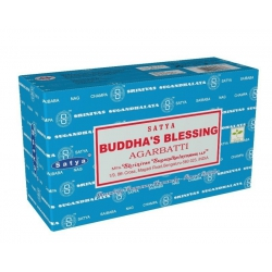 12 pakjes Buddha,s Blessing wierook (Satya)