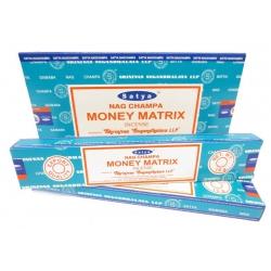 12 pakjes Nag Champa Money Matrix wierook (Satya)