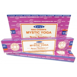 12 pakjes Nag Champa Mystic Yoga wierook (Satya)