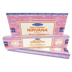 12 pakjes Nirvana wierook (Satya)