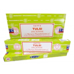 12 pakjes Tulsi wierook (Satya)