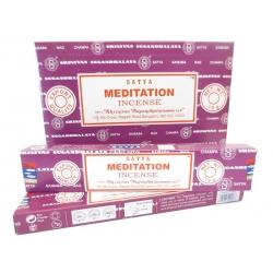 12 pakjes Meditation wierook (Satya)