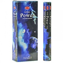 6 pakjes Divine Power wierook (HEM)