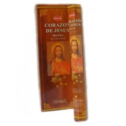 6 pakjes Corazon de Jesus wierook (HEM)