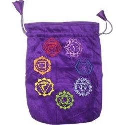 Tarotbuidel purple 7 Chakra