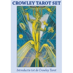 Aleister Crowley Thoth Tarot Set, kaarten & boek in buidel