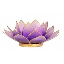 Lotus Kaarsenbrander - Violet