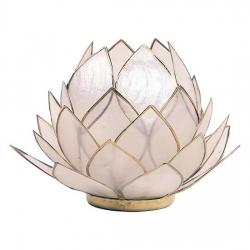 Lotus Candles burner large-natural