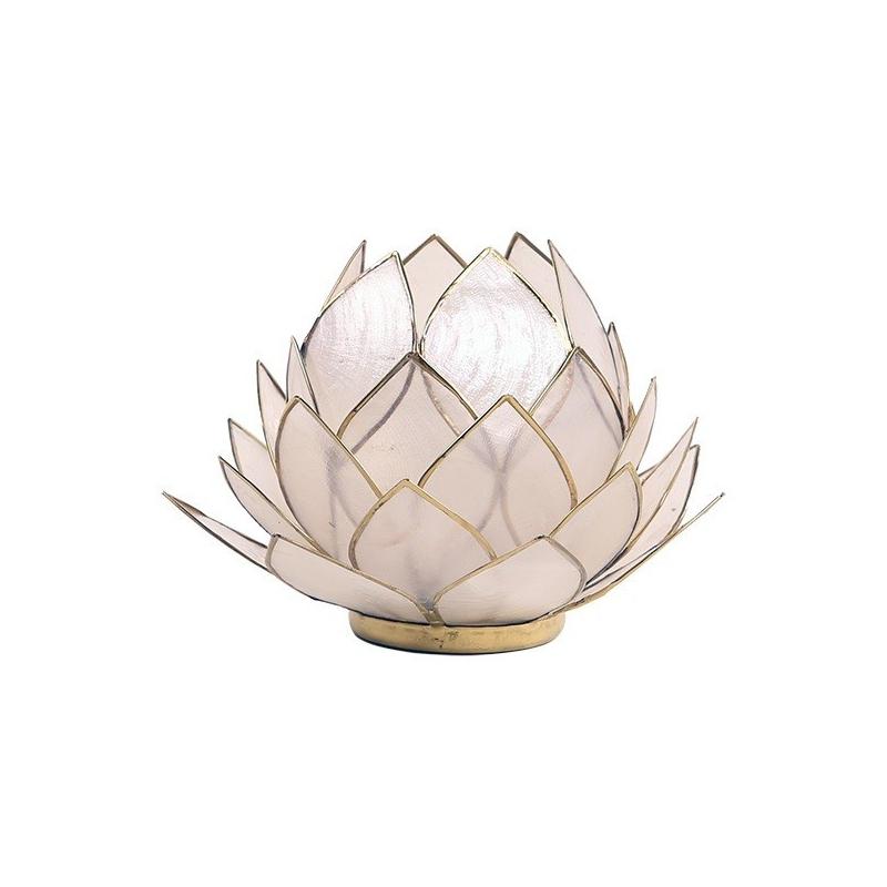 Lotus Kaarsenbrander groot - Naturel