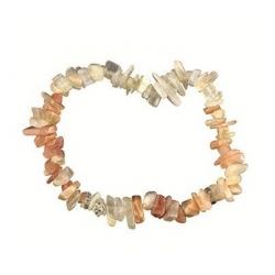 Maansteen (gemengd) - edelsteen splitarmband