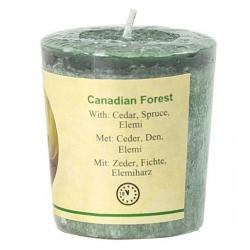Votief geurkaarsje 'Canadian Forest'