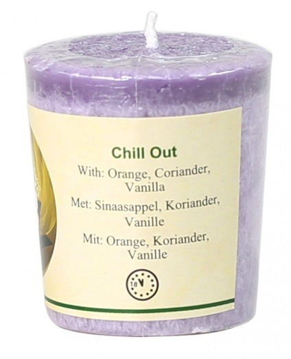 """""""Chill-Out"""" geurkaars"""