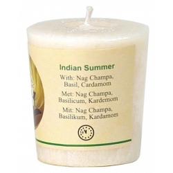 Votief geurkaarsje 'Indian Summer'