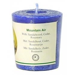 Votief geurkaarsje 'Mountain Air'