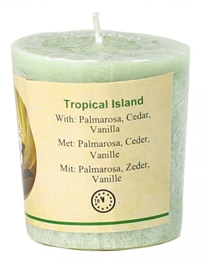 """Tropical Island"" geurkaars"