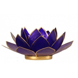 Lotus Kaarsenbrander - Tanzaniet indigo