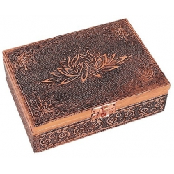 Tarot und Schmuckkästchen - OHM Kupfer Farbe