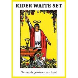 Rider Waite Tarot Set, kaarten & boek