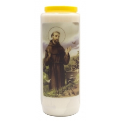 Noveenkaars Heilige Franciscus + gebed