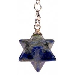 Merkaba pendel - Lapis Lazuli