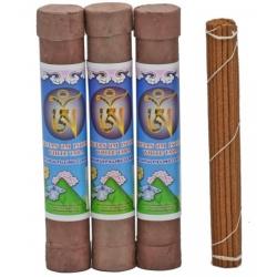 """white Tara"" Tibetan incense in luxurious Brocade makers"