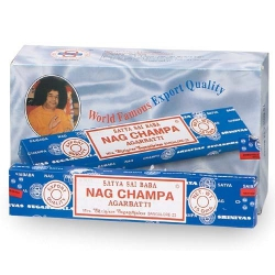 12 packs of Original Nag Champa incense (Satya Sai Baba)