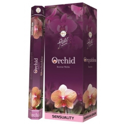 6 pakjes Orchid wierook (Flute)