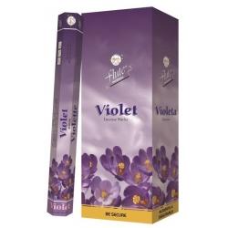 6 pakjes Violet wierook (Flute)