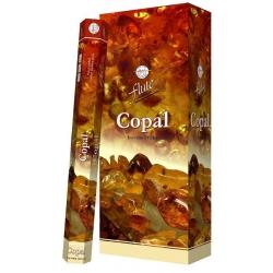 6 pakjes Copal wierook (Flute)