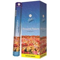6 pakjes Thousand Flowers wierook (Flute)