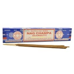 Nag Champa wierook 15 gms (Satya)