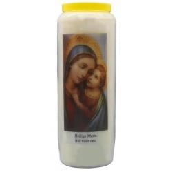 Noveenkaars Heilige Maria Bid voor ons + gebed