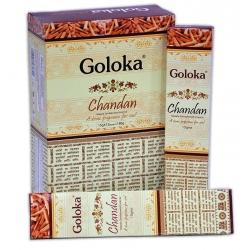 12 pakjes GOLOKA - Chandan (15 gms)