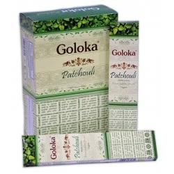 12 pakjes GOLOKA Patchouli (15 gms)