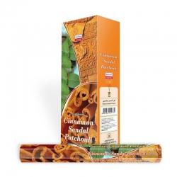 Darshan Cinnamon Sandal Patchouli wierook (per doos)