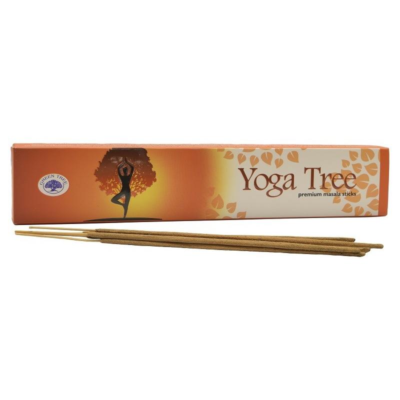 Yoga tree wierook (Green tree)