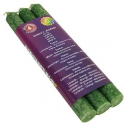 4e Chakra Geurkaarsen - Anahata - Chakra 4 (groen)