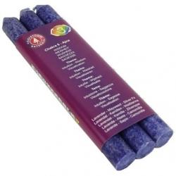 6. Chakra-Ajna-Chakra duftende Kerzen-6 (Indigo)