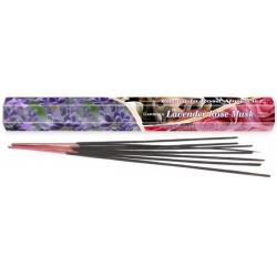 Lavender Rose Musk wierook (Darshan)